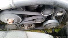 Picture from a serpentine belt E36 318is