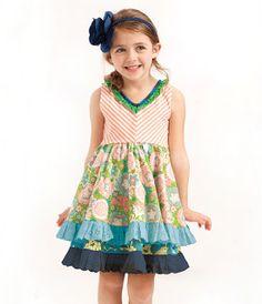 Cake Walk tank dress~Matilda Jane~Wonderful Parade
