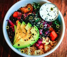 Deconstructing Harlow's Betty Bowl | Portland Monthly Gluten free health food