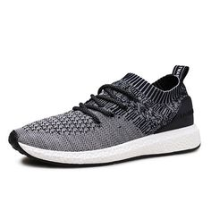 Men Casual Soft Sole Lace Up Sport Knitted Athletic Shoes  Worldwide delivery. Original best quality product for 70% of it's real price. Hurry up, buying it is extra profitable, because we have good production sources. 1 day products dispatch from warehouse. Fast & reliable shipment... #athleticshoesbest