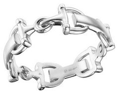 I must have this - Arthur Court Equestrian Snaffle Bit Bangle Jewelry - Fashion at Horse and Hound Gallery