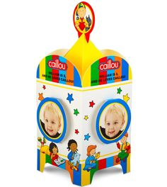 Caillou Personalized Centerpiece, 94890