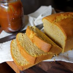Pumpkin Yogurt Pound cake by itself is amazing, but with its friend salted caramel drizzle? MIND BLOWING. The best pound cake!