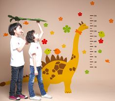#Measuring_Heights Wall Chart Decals for Kids Rooms $51.60 @wallstickery
