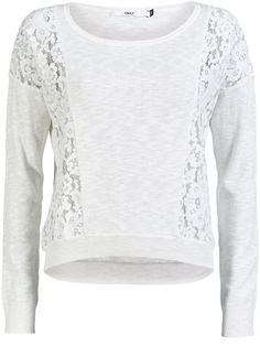 LACE DETAILED KNITTED PULLOVER