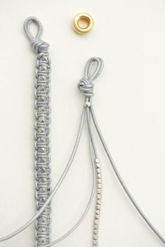 Leder Armband DIY...AGAIN