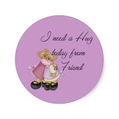 Shop I Need a Hug today from a Friend Stickers created by mrssocolov. I Need A Hug, Custom Stickers, Activities For Kids, Diy Projects, Scrapbook, Make It Yourself, Friends, Pattern, Personalized Stickers