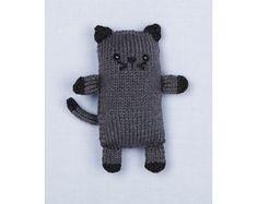 Loom Knit Cat Pattern
