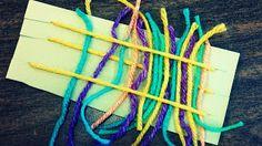 Preschooler Weaving Project