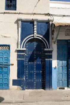 Charming door, Morocco