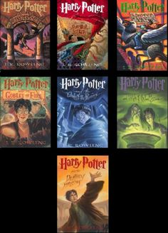 Harry Potter Books 1-7 *Kindle Edition* ($34.00)