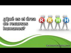 ¿Qué es el área de recursos humanos?