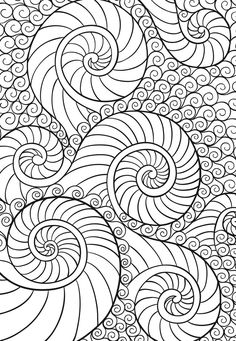 Dover zenscapes adult coloring pages desenler, sanatsal resimler ve boyama Doodle Coloring, Mandala Coloring Pages, Coloring Book Pages, Printable Coloring Pages, Coloring Pages For Grown Ups, Dover Publications, Zentangle Patterns, Zentangles, Free Mosaic Patterns