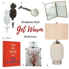 Hamptons House, The Hamptons, Warm Bedroom, How To Get Warm, Home Furniture, Home Decor, Style, Swag, Decoration Home