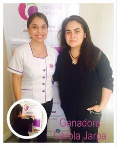 Segunda Ganadora de la sesión de Auriculoterapía +  asesoría nutricional
