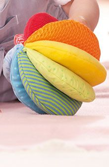 HABA - Erfinder für Kinder - Fabric ball Rainbow - Fabric toys for babys - For Babys - Toys & Furniture