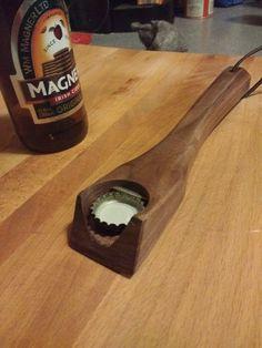 DIY Wood Bottle Opener
