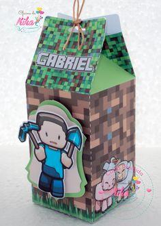 Caixa Milk Minecraft
