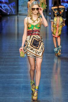 Dolce and Gabbana S/S 2012 RTW