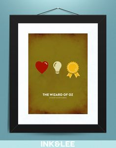 #ClassroomDecor This is an awesome visual for students about the three things we value -- heart, brains, and courage. You could easily make a copy or put it on as a part of a deskplate.