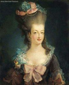 Marie Antoinette portrait 1775.