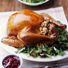 See How to Roast a Turkey with Stuffing