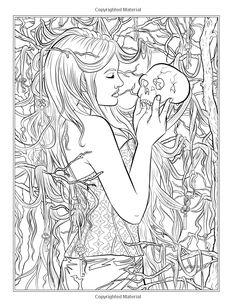 Gothic - Dark Fantasy Coloring Book (Fantasy Art Coloring by Selina) (Volume 6): Selina Fenech: 9780994355461: AmazonSmile: Books