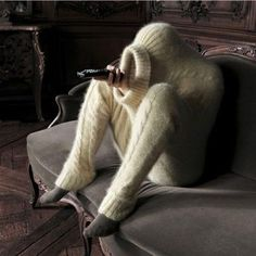 Haha-full body warm sweater this is what I need because I'm always cold!