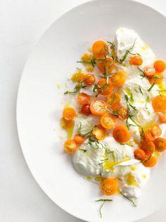 Burrata and Tomato Salad /