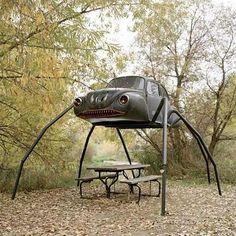VW Sculpture...very cool