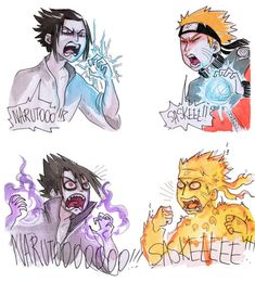 Pretty accurate if you ask me | Naruto and Sasuke