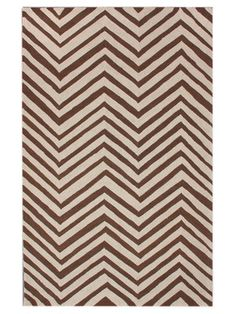Chevron Hand-Hooked Rug by nuLOOM on Gilt Home