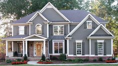 Home Plan HOMEPW12862 - 3054 Square Foot, 5 Bedroom 4 Bathroom New American Home with 2 Garage Bays | Homeplans.com