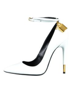 It's sexy and it knows it: Tom Ford's padlock ankle strap pumps