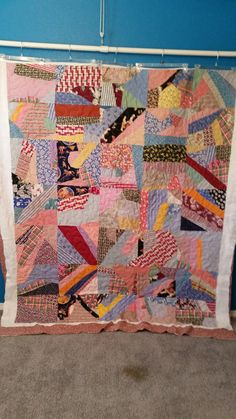 Sue P's antique quilt.  Longarmed by Le Ann Weaver of Persimmon quilts.