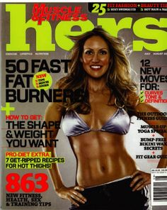 On Cover of Muscle & Fitness HERS