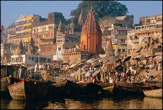 Varanasi, India, 1985