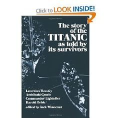 I wanna read this!- The Story of the Titanic As Told by Its Survivors (Dover Maritime)