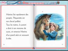 Livre multimédia Full Version : Martine monte à cheval Core French, French Class, French Teaching Resources, Teaching French, Daily Five, French Songs, French Expressions, French Teacher, French Immersion
