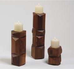DwellStudio - Facet Candleholder