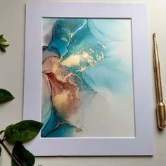 Alcohol Ink Crafts, Alcohol Ink Painting, Alcohol Ink Art, Original Paintings, Original Art, Oil Painting Abstract, Resin Art, Artwork, A3 Size