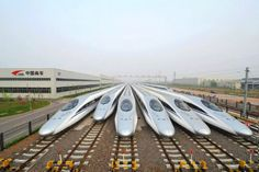 High-speed rail (HSR) in China is the country's network of passenger-dedicated railways designed for speeds of km/h mph). China Today, High Speed Rail, Other Countries, Exotic Places, Beijing, Surfboard, To Go, Europe, Explore