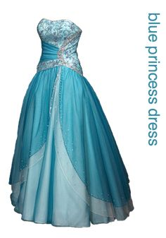 Dreamy Frozen Prom Dresses Inspired by Elsa's Blue Gown - Davonna Juroe Cute Prom Dresses, Grad Dresses, Disney Dresses, Ball Gown Dresses, Homecoming Dresses, Pretty Dresses, Formal Dresses, Disney Outfits, Fiestas Party