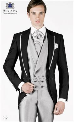 Traje de novio gris 752 ONGala Wedding suit