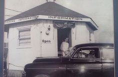 Early Lake Cumberland Information Center that was located on Hwy 27 South Burnside. photo from Lake Cumberland Tourism