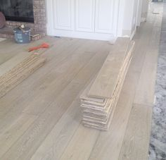In several of my designs I've installed beautiful hardwood flooring. The new wood floors have transformed the spaces, creat . Wood Flooring - CLICK THE PIC for Many Wood Flooring Ideas. Modern Wood Floors, Grey Hardwood Floors, Living Room Hardwood Floors, Types Of Wood Flooring, Hardwood Floor Colors, Flooring Ideas, Engineered Hardwood, Cork Flooring, Flooring 101