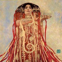 art © Gustav Klimt hygeia