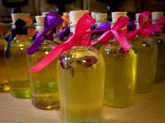 Ring O Roses Bath, Body and Massage Oil Apothecary Bottles, Bottles And Jars, Handmade Wedding Favours, Confetti Cones, Home Spa, Massage Oil, Gift Packaging, Aromatherapy, Bath And Body