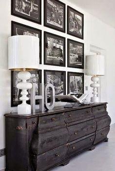 Inspirações de cômodas na decoração.