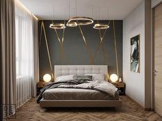 Comfortable Modern Small Bedroom Design and Decor Ideas - Zimmer Pin Fancy Bedroom, Cozy Bedroom, Bedroom Apartment, Bedroom Decor, Bedroom Ideas, Bedroom Images, Bedroom Lighting, Luxury Bedroom Design, Master Bedroom Design